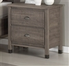 Baja Two Drawer Night Stand