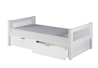 Camaflexi Platform Bed with Drawers