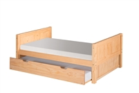 Camaflexi Platform Bed with Trundle