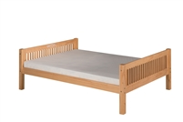 Camaflexi Full Size Platform Bed with Drawers