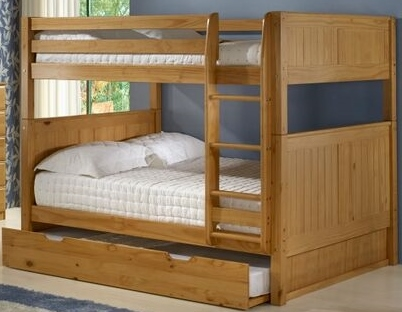 Full on Full Bunk Bed Trundle Panel Clear