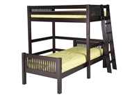 Camaflexi Twin over Twin Loft Bed