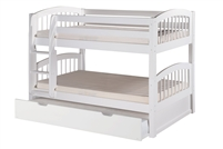 Camaflexi Low Bunk Bed with Trundle