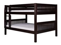 Camaflexi Full over Full Low Bunk Bed