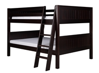 Camaflexi Full over Full Low Bunk Bed Angle Ladder