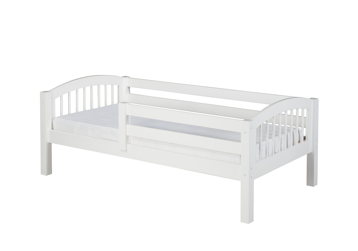 Day Bed Front Guard Rail Arch Spindle White