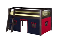 Camaflexi Low Loft Playhouse Bed