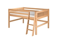 Camaflexi Full Low Loft Bed