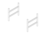 Camaflexi High Loft Bed Conversion Kit