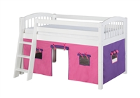 Camaflexi Fabric Tent Kit For Low Loft Bed