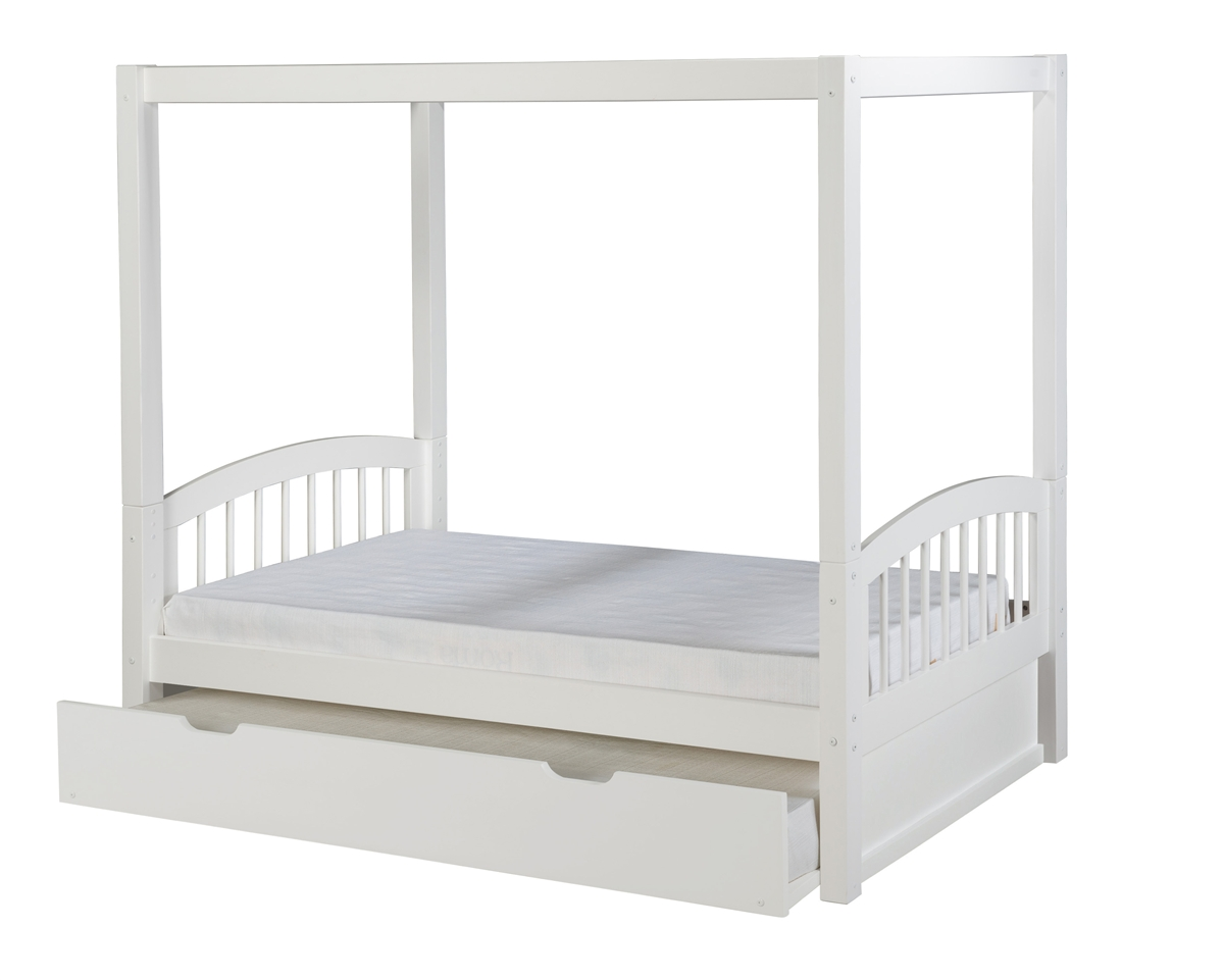 Camaflexi Canopy Bed With Trundle Larger Photo
