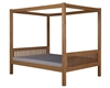 Camaflexi Full Canopy Bed with Trundle