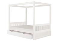Camaflexi Canopy Bed with Trundle