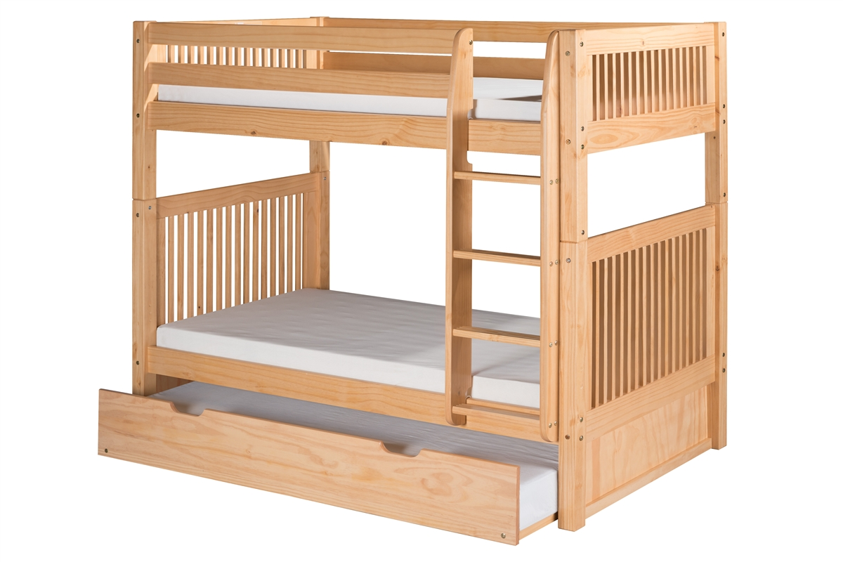 Camaflexi Bunk Bed With Trundle Larger Photo