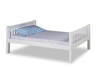Expanditure Twin Bed - Mission Headboard - White