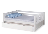 Expanditure Day Bed With Twin Trundle - Mission Style - White