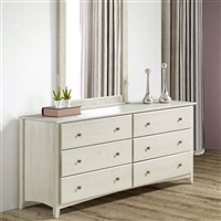 Three Drawer Camaflexi Essentials Wood Dresser Cappuccino EcoFlex Furniture 4142