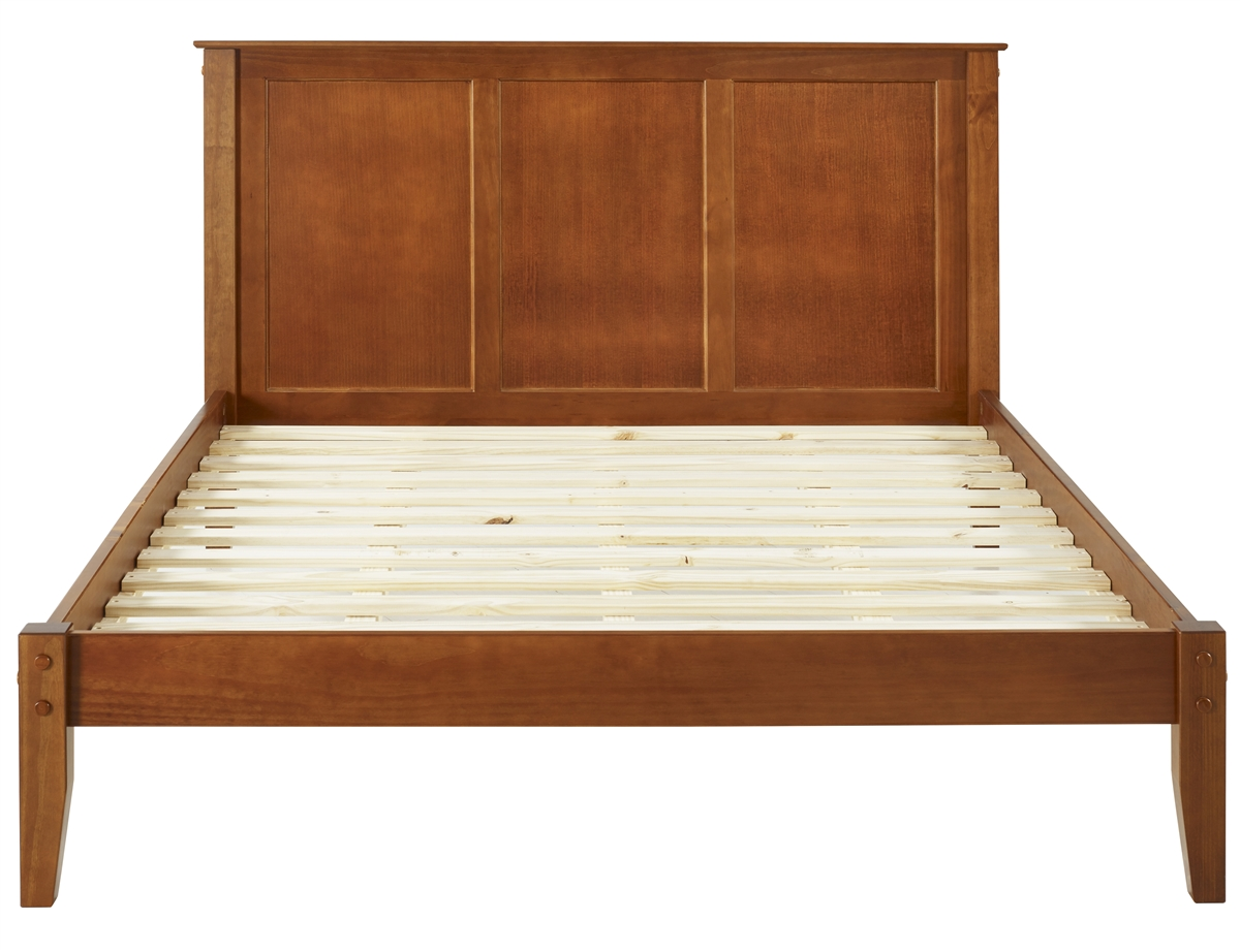 queen style platform bed fabric polyester p size chasin transitional grey