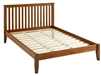 Shaker Style Mission Full Size Platform Bed - Cherry Finish