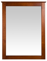 Camaflexi Shaker Style Mirror for 6 Drawer Dresser - Cherry Finish