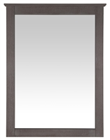 Camaflexi Shaker Style Mirror for 6 Drawer Dresser - Weathered Grey Finish