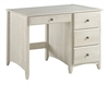 Camaflexi Shaker Style Writing Desk - 4 Drawers - Weathered White Finish