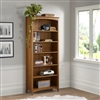 "Shaker Style Bookcase - 72""H - Cherry Finish"