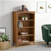 "Shaker Style Bookcase - 48""H - Cherry Finish"
