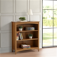 "Shaker Style Bookcase - 36""H - Cherry Finish"