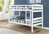 Concord Bunk Bed Twin over Twin - White Finish