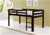 Concord Twin Size Junior Loft Bed - Cappuccino Finish
