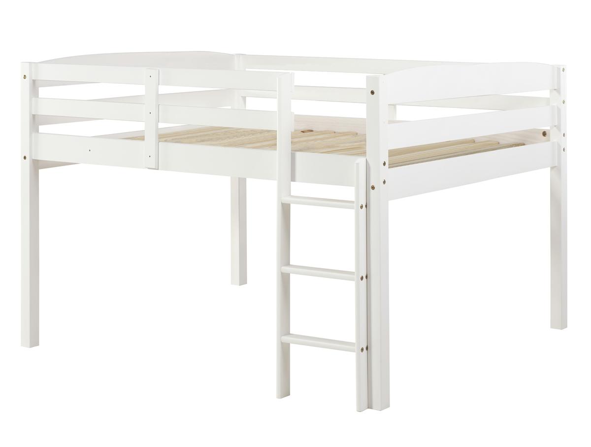 Full Size Junior Loft Bed White
