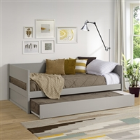 Concord Wood Panel Daybed with Trundle
