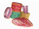 Bulk Party Glass Bangles: 250 Bangles