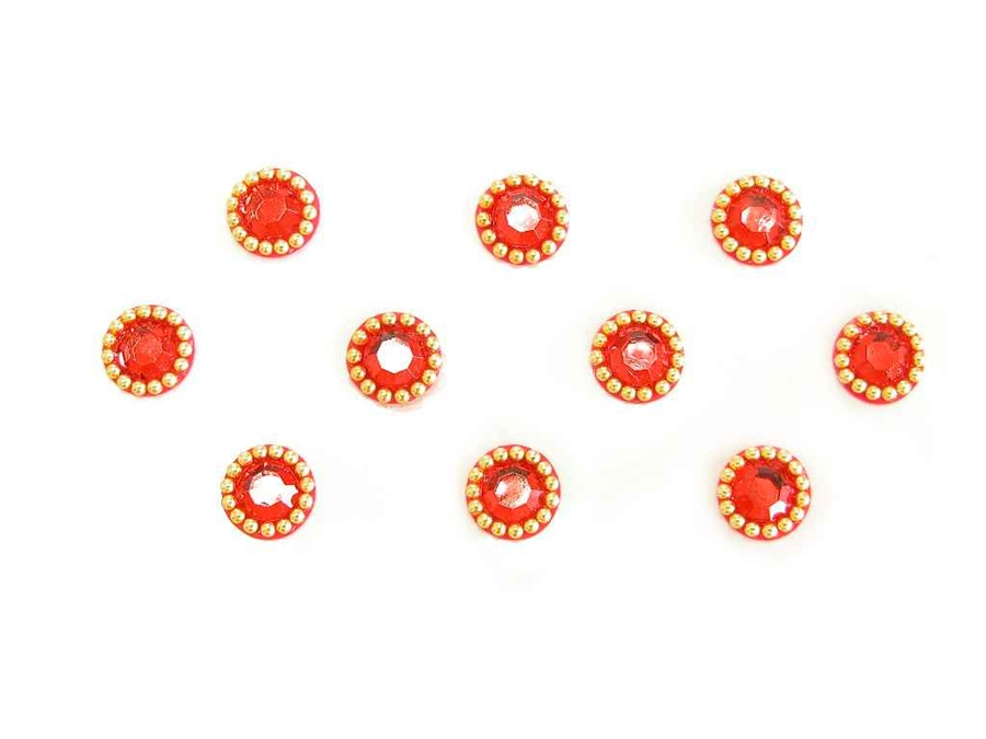 Round Bindi Stickers