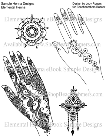 Optional Add On: Elemental Henna in eBook Format