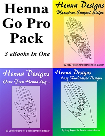 Learn to become a professional henna artist as a business.