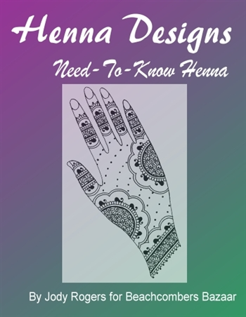 Need to know henna design concepts and information
