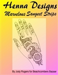 Learn to henna mehndi party designs in sangeet strip style