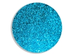 Turquoise Peacock Blue super fine cosmetic grade body glitter for henna paste.