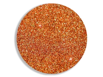 Orange Copper Fire sparkle super fine cosmetic grade body glitter for henna paste.