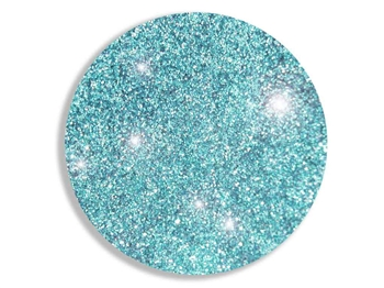 Aquamarine blue super fine cosmetic grade body glitter for henna paste.
