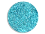 Turquoise blue super fine cosmetic grade body glitter for henna paste.