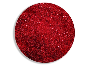 Metallic red super fine cosmetic grade body glitter for henna paste.