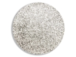 Metallic silver super fine cosmetic grade body glitter for henna paste.