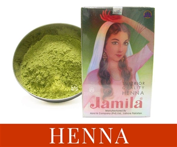 Jamila henna is used as a natural hair dye to get a range of different colors in a safe non-damaging hair dye.