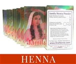 Crazy high lawsone content for extra dark henna stains! Jamila henna is a professional grade henna powder with a great stringy texture and extra dark henna stains.