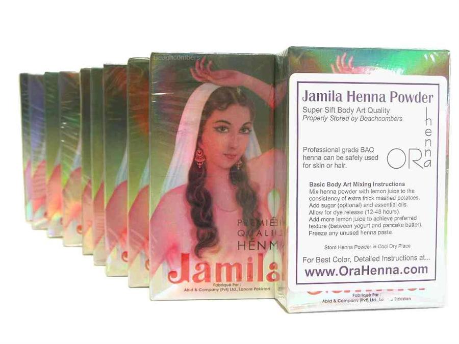 Henna Powder Fresh Professional Baq Jamila Mehndi Powder