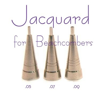 Get all 3 sizes of Jacquard tips for jac bottles.  Jac Jaq bottles are popular for henna beginners and make henna easy.