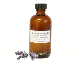 Lavender oil is a great mehndi oil to add to henna paste. It's high in terps to darken your henna tattoo stain and smells divine.
